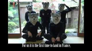 MAN WITH A MISSION have gathered a great amount of attention in Jap...