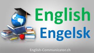 Engelsk talende skriftligt grammatik kursus lærer English