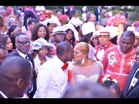 Le Mariage presidentiel du  couple Amot  dans 4 mariages pour une lune de miel