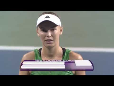 2016 Toray Pan Pacific Quarterfinals | Caroline Wozniacki vs Magda Linette | WTA Highlights
