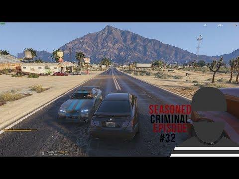 Near Head-On Crash! - #32 DOJ Criminal GTA V