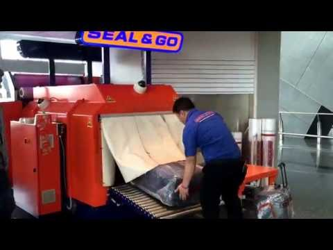 Luggage Wrapping at Hamad Int. Airport Qatar