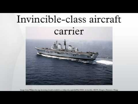 Invincible-class aircraft carrier