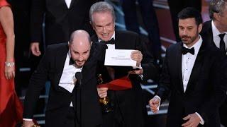 Huge Mistake Oscars 2017!! LIVE! Moonlight wins Oscar! MUST WATCH