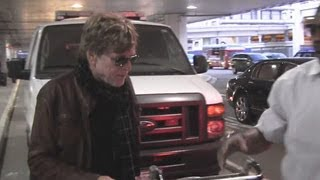 Robert Redford Arrives At LAX