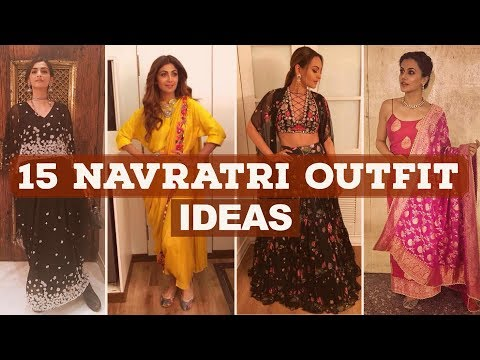 Shilpa Shetty, Jacqueline Fernandez inspired 15 Navratri Outfit Ideas 2017  | Pinkvilla