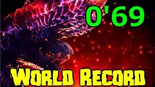 How To Kill Alaтreon in 69 Seconds | MHW Iceborne