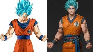 Dragon ball super in Realistc and Fan Art - Dragon ball Z characters Realistc And Fan Art
