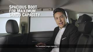 Mitsubishi Outlander - How to fold your seats