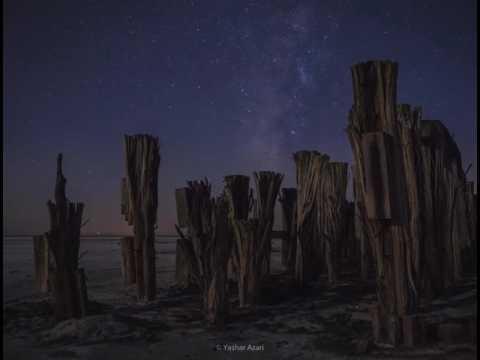 Milky way on the urmia Lake
