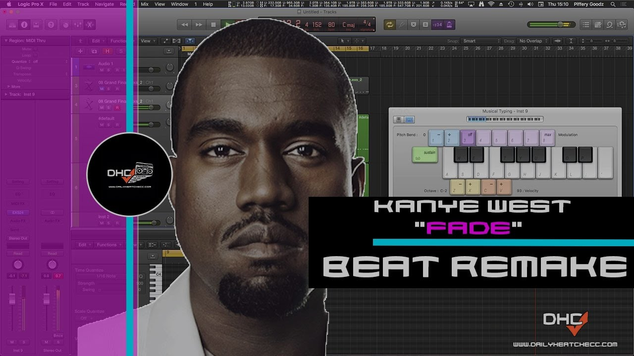 "➢ Chopping Samples: Like Kanye West In Logic Pro X ""Fade"" Beat ..."