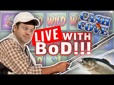 $1500 Live Cash Cove Slot Play With BoD