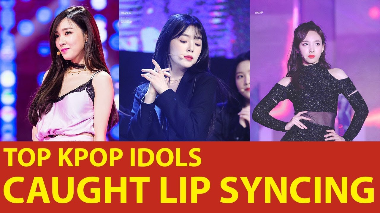 Kpop Idols Lip Sync Fails 2018 Youtube