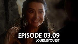 "JourneyQuest S03E09 –""Black Robe Stuff"""