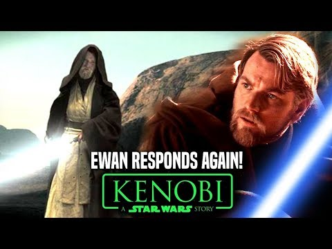 Star Wars! Ewan McGregor Responds To Obi Wan Kenobi Movie Star Wars