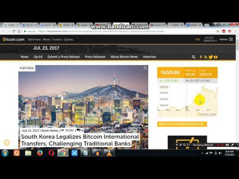 South Korea legalise Bitcoin in Hindi
