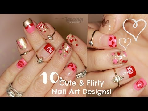 DIY Cute & Easy Flirty Nail Designs - The Ultimate Guide #1