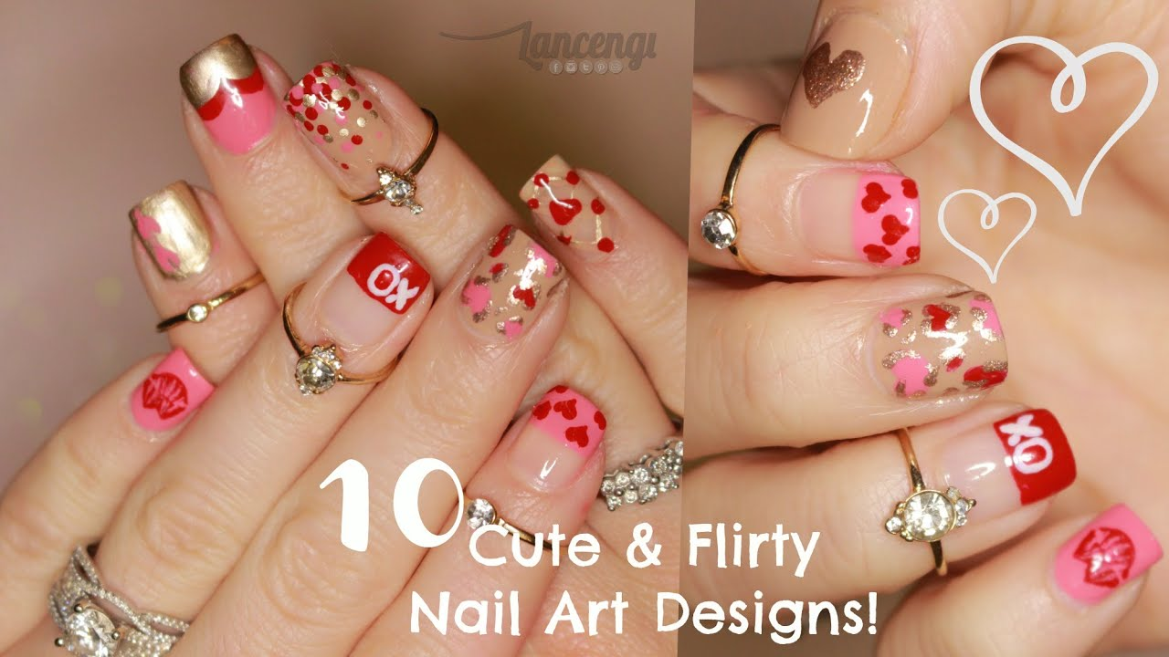 Diy Cute Easy Flirty Nail Designs The Ultimate Guide 1 Youtube