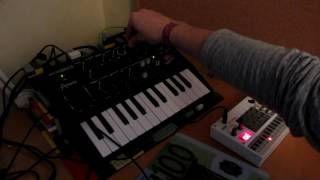Microbrute & Volca Sample: Nine Inch Nails covers
