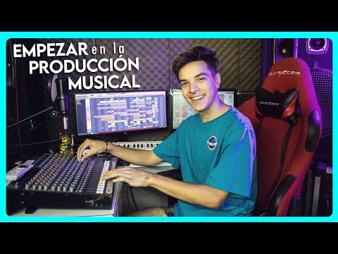 CÓMO EMPEZAR en la PRODUCCIÓN MUSICAL | Consejos para producir música desde tu casa