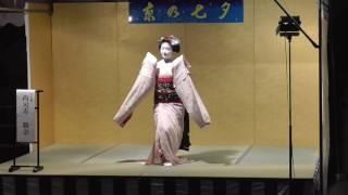 2016京の七夕堀川会場舞妓さん踊り祇園小唄
