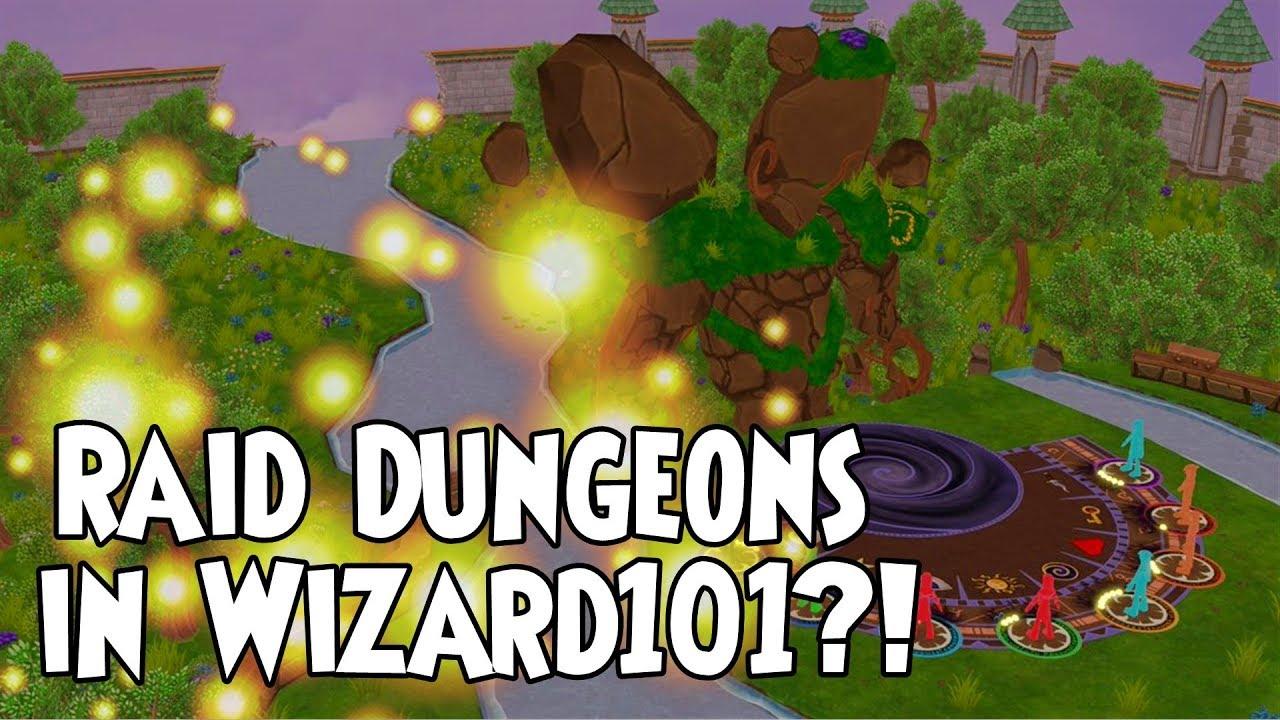 Wizard101 - Raid Dungeons! Part 1 (Theories)