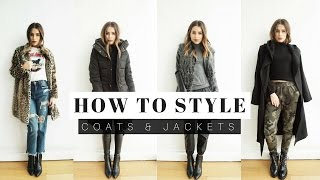 How To Style: Coats & Jackets + LOOK BOOK