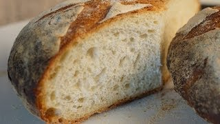 Easy Rustic French Loaf  Bruno Albouze