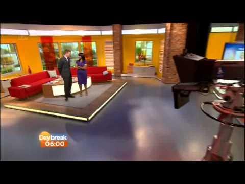 ITV Daybreak opening 2013