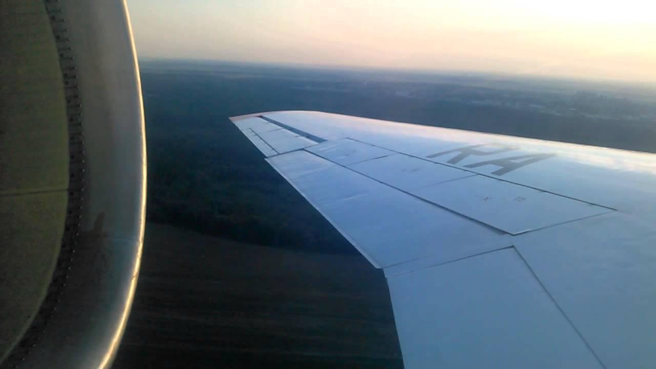 як-42 Ижавиа Взлёт Ra-42384 - YouTube