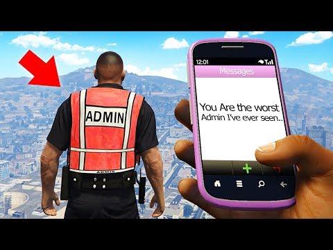 I'm An Admin In GTA RP! (GTA RP)