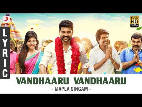 Mapla Singam - Vandhaaru Vandhaaru Lyric | Vimal, Anjali | N.R. Raghunanthan