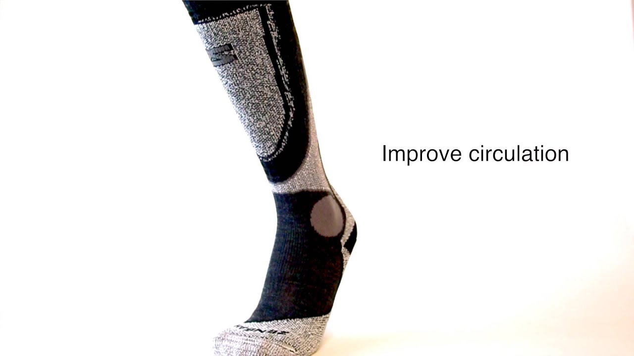 cd736299cccad Zensah Far Infrared Ski Socks - Tech Video - YouTube