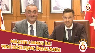 ✍ Martin Linnes'in sözleşmesi uzatıldı | İmza Töreni