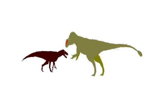 Sinotyrannus vs barasuchus 0001