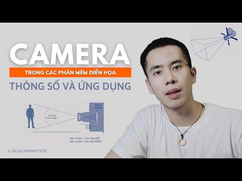 CÁC THÔNG SỐ TRONG ĐẶT CAMERA SETTING RENDER DIỄN HỌA 3D (3Ds Max, Enscape, Vray) | Quách Minh Tiến