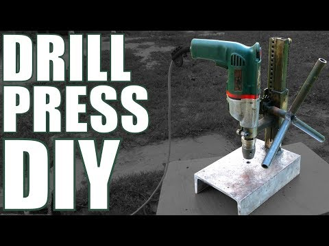 #16 Home made steel DRILL PRESS stand (diy)