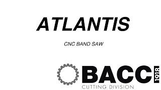 "Cnc Band Saw ""atlantis"" By Bacci ""cutting Division"""