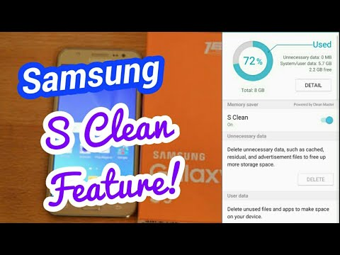 Samsung S Clean Feature Review J5 2015
