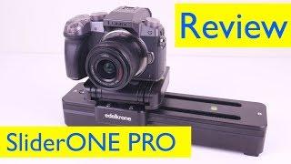 Edelkrone SliderONE Pro Review and Slider Footage Test