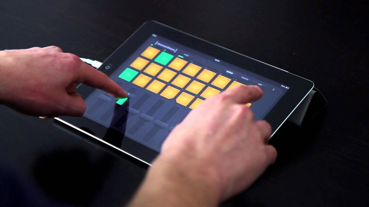 Novation    Launchpad for iOS   iPad Performance   YouTube