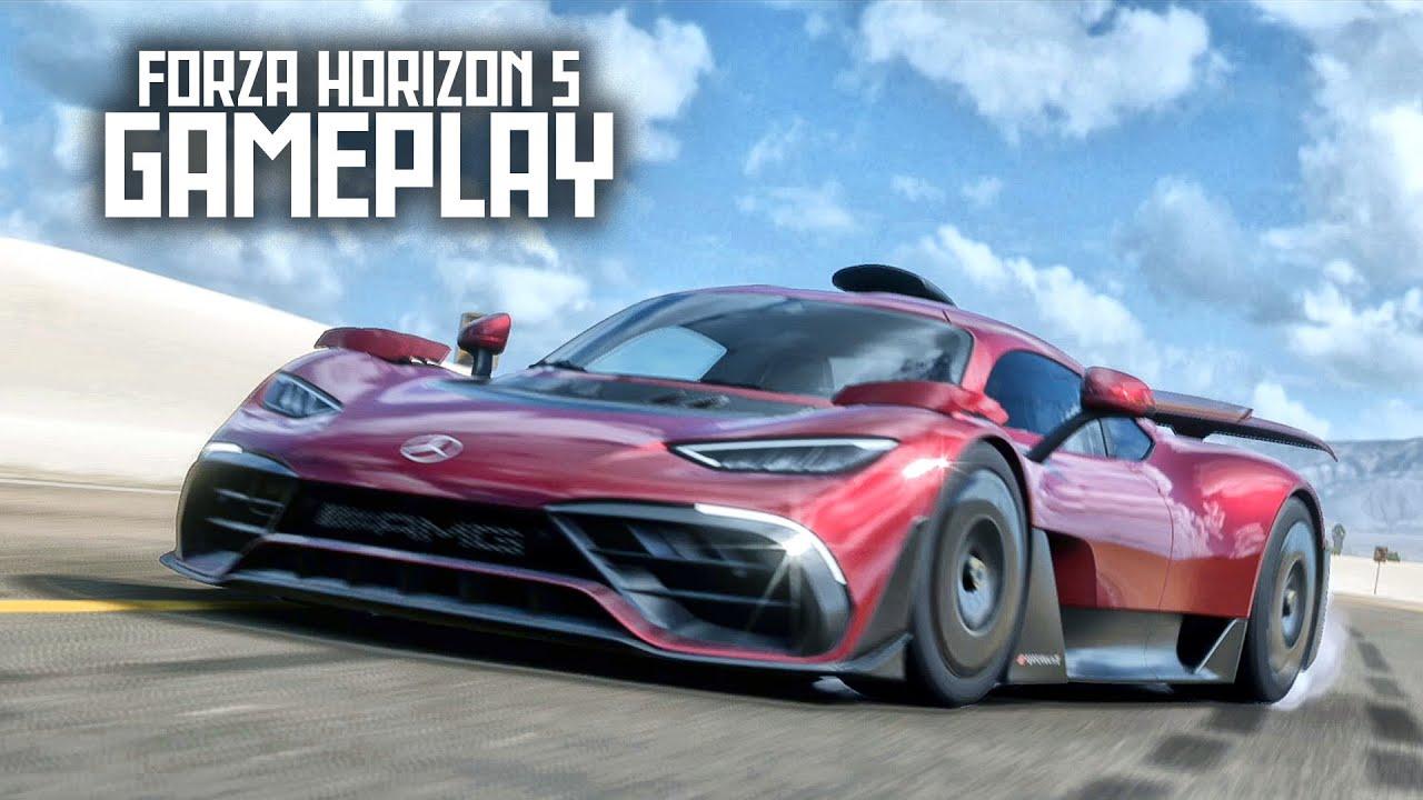FORZA HORIZON 5 - O Início de Gameplay, em Português PT-BR!