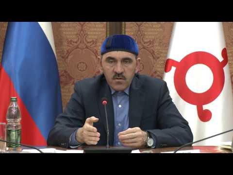 Юнус-Бек Евкуров провел