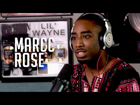 Marcc Rose talks playing Tupac, how biopic almost went wrong + resemblance for free stuff!