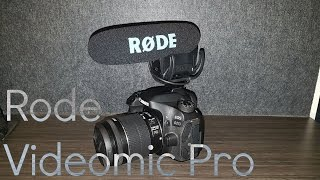 Rode Videomic Pro Unboxing and Test!