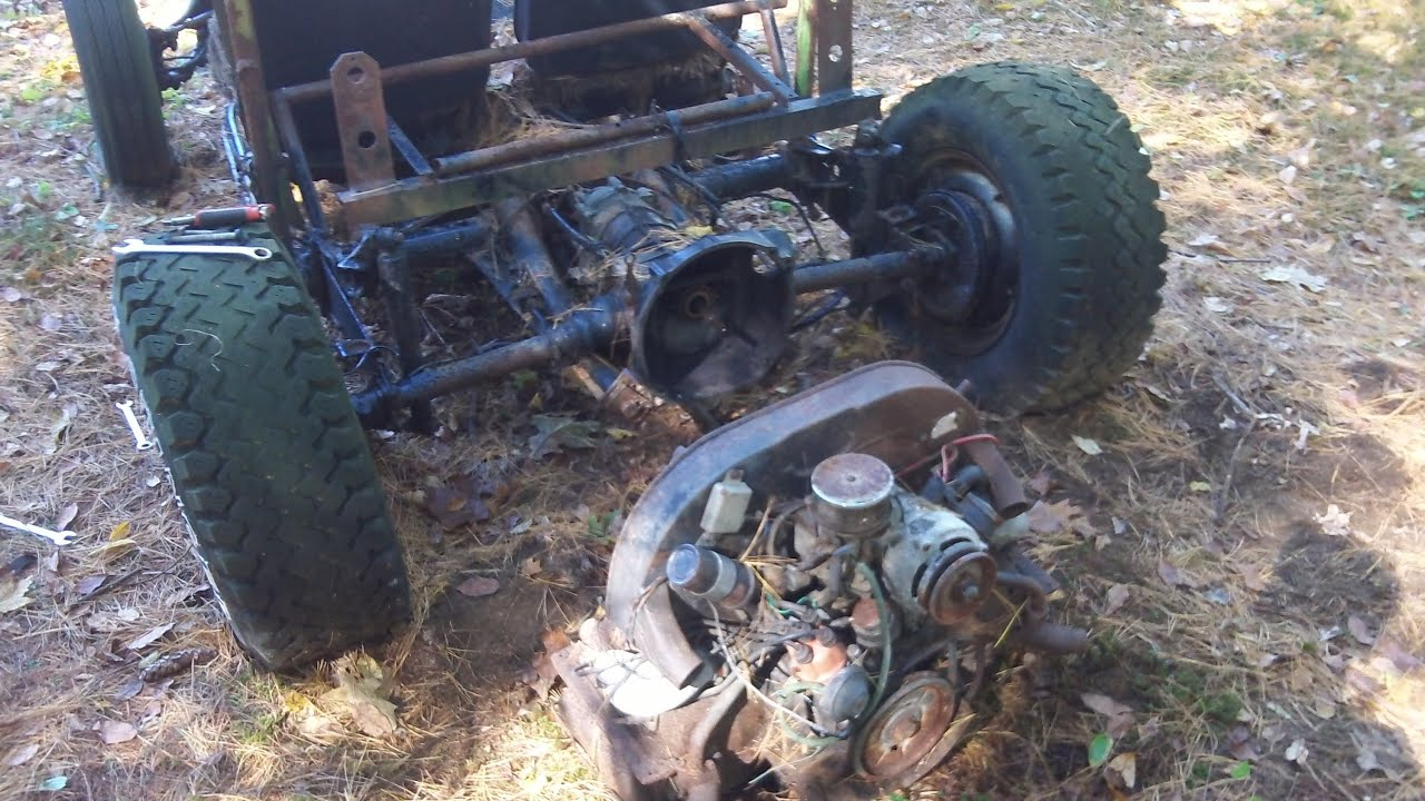 The Red Baron Vw Trike Part 39 Mud Buggy My 40 Parts Car You