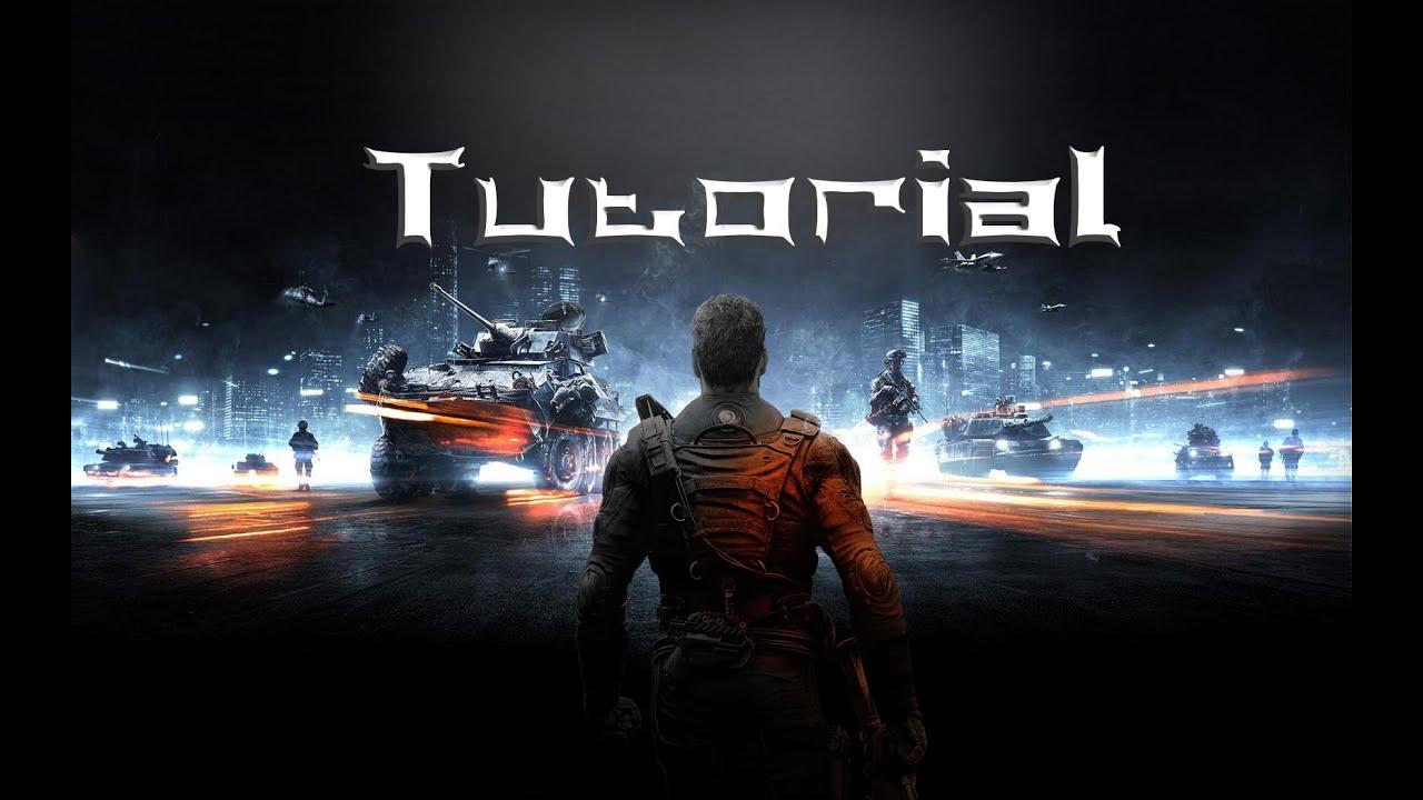 Tutorial  create battlefield effect in photoshop gaming image wallpaper  HAD3Sdesigns tutorial