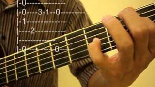 Bruno Mars Billionaire - Guitar Cover With TAB- http://williamkok.com