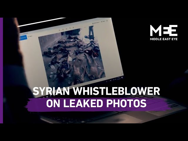 Syrian whistleblower details how he leaked torture photos in '60 Minutes' interview