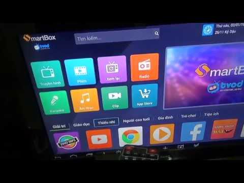 Hướng dẫn bạn sử dụng đầu VNPT Smart box 2 biến tivi thường thành tivi thông minh